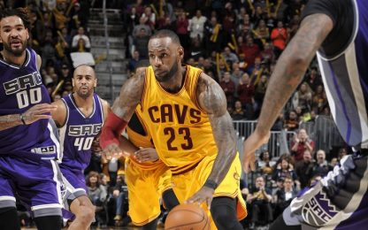 NBA, i Cavs perdono ancora: passano i Kings all'OT
