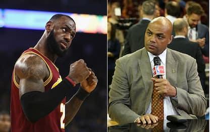 """NBA, LeBron contro Barkley: """"È soltanto un hater"""""""