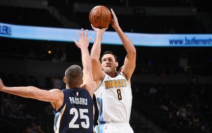 NBA, si ferma Gallinari: stiramento all'inguine