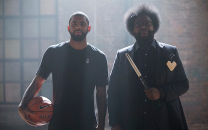 NBA, Kyrie Irving + Questlove: il ritmo del gioco