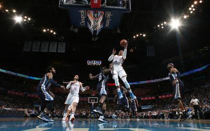 NBA, sempre Westbrook, solo Westbrook: che show