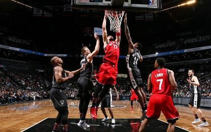 NBA, successo dei Raptors. Westbrook trascina OKC