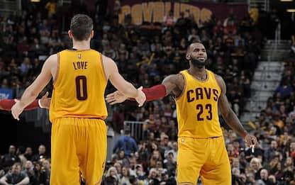 """NBA LeBron e la trade Love-Carmelo: """"È spazzatura"""""""
