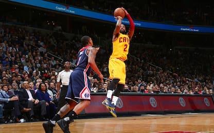 NBA, Washington-Cleveland, la partita dell'anno!