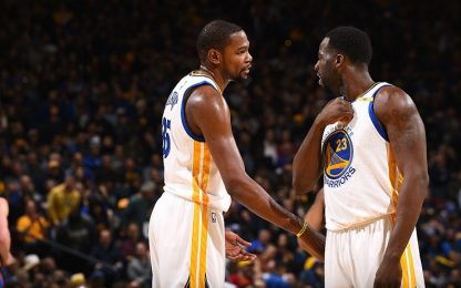 NBA, Green-Durant, pace fatta. E con Westbrook…