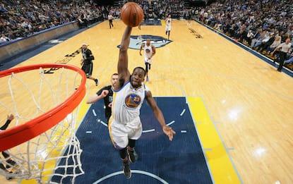 NBA, vendetta Warriors a Memphis, Green da record