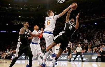 NBA, risorgono i Knicks, battuti gli Spurs
