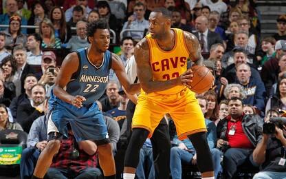 NBA, Cavs a Minnesota senza Love: fuori 6 settimane!