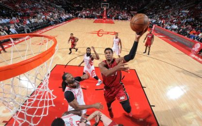 NBA, torna a vincere Miami, Whiteside batte Harden