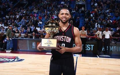 NBA, la gara da tre punti è di Eric Gordon