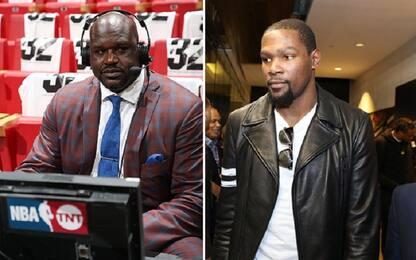 """NBA, KD difende McGee: """"Shaq aveva tanti difetti"""""""