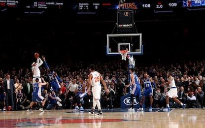 NBA, Anthony segna allo scadere: vincono i Knicks
