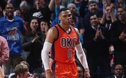NBA, Westbrook non sbaglia nel finale: Pelicans ko