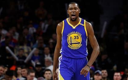 NBA, Wizards-Warriors, Kevin Durant torna a casa