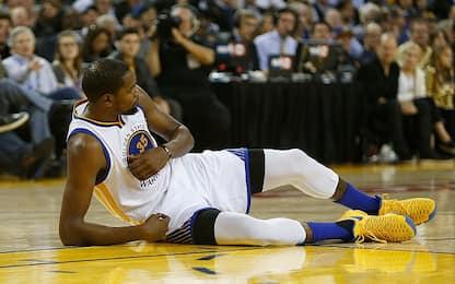 NBA, buone notizie per Durant: stagione salva
