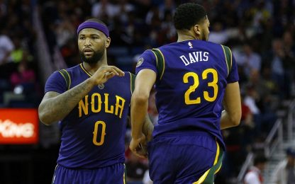 NBA, Davis e Cousins alla prova San Antonio Spurs