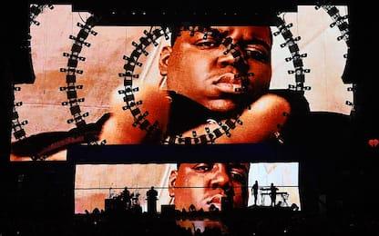NBA i Nets onorano la memoria di The Notorious BIG