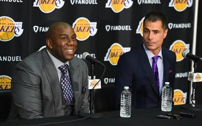 NBA, chi è Rob Pelinka, il nuovo GM dei Lakers