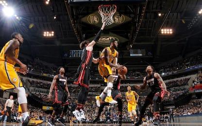 NBA, Paul George ferma Miami, Bulls male a Boston