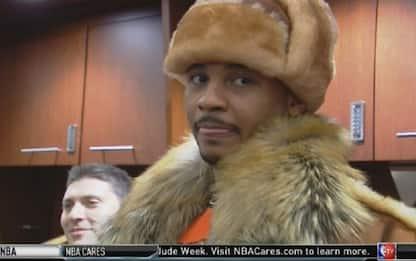 NBA, Anthony affronta la tempesta in pelliccia