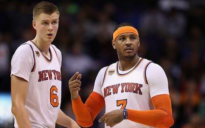 NBA, caos Knicks: Triangolo indigesto e Carmelo...
