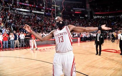 NBA, la corsa al premio di MVP: James Harden