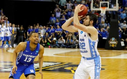 NCAA, finale folle tra Kentucky e North Carolina