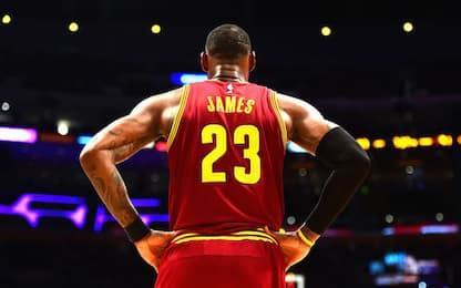 NBA, la corsa al premio di MVP: LeBron James
