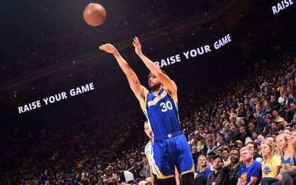 NBA, i risultati della notte: Curry show con 42