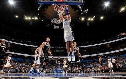 NBA, la super schiacciata di Aaron Gordon
