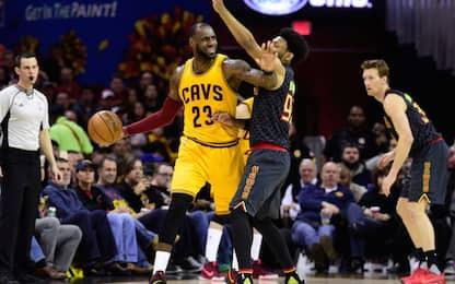 NBA, risultati della notte: clamoroso ko dei Cavs