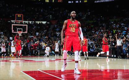 NBA, LeBron in tripla doppia ma Cavs ko ad Atlanta