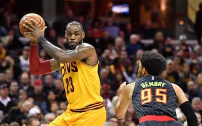 NBA Preview: Cavs in cerca di vendetta ad Atlanta