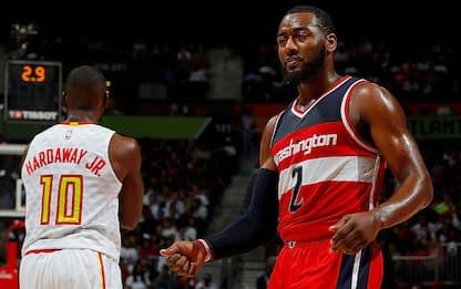 NBA, anteprima playoff: Washington vs. Atlanta