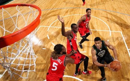 NBA, anteprima playoff: Toronto vs. Milwaukee