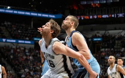NBA, anteprima playoff: San Antonio – Memphis