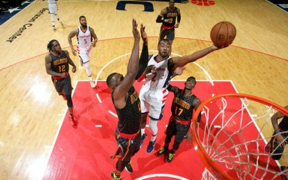 NBA, record playoff per Wall, agli Wizards gara-1