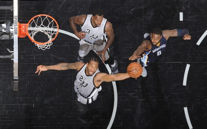 NBA, Spurs in scioltezza sulle spalle di Leonard