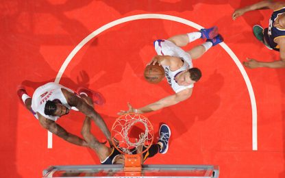 NBA, i Big Three dei Clippers pareggiano la serie