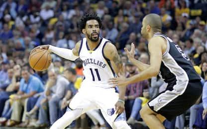 NBA Zach Randolph (21) guida Memphis, ko gli Spurs