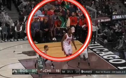 "NBA, Rajon Rondo e lo ""sgambetto"" a Jae Crowder"