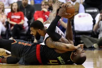 """NBA, Morris contro Millsap: """"È un frignone"""""""