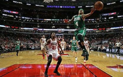 NBA, Boston batte Chicago e si riprende la serie