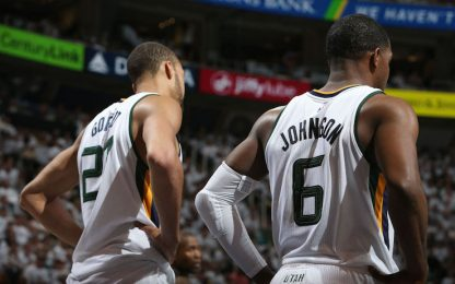 NBA, Gobert torna, Joe Johnson la decide: Utah 2-2