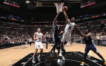 NBA, Leonard + panchina: San Antonio vola sul 3-2