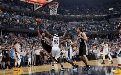 NBA, con Leonard e Parker Spurs al secondo turno