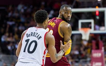 NBA, anteprima playoff: Cleveland vs. Toronto