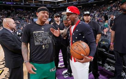 NBA, i 53 di Isaiah Thomas fanno ricco Mayweather