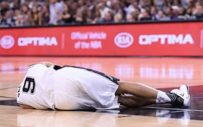 NBA, grave infortunio al quadricipite per Parker
