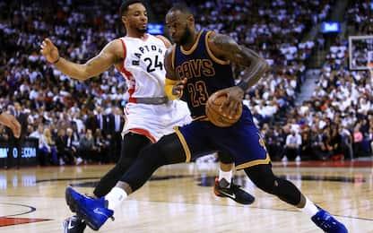 NBA, Raptors-Cavs in live streaming su skysport.it